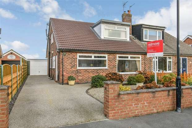3 Bedrooms Semi Detached House for sale in Key Way, Fulford, YORK