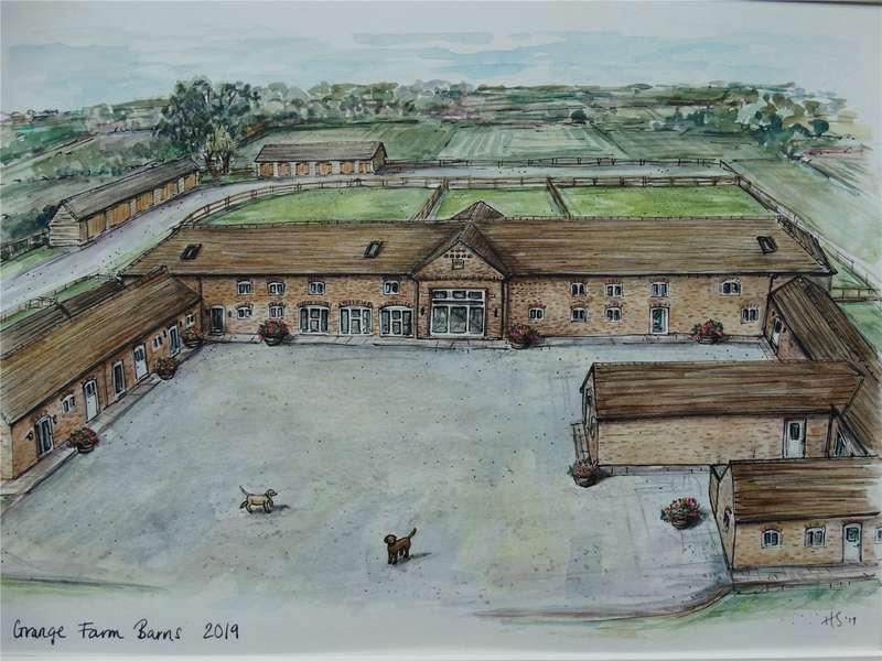 4 Bedrooms Barn Conversion Character Property for sale in Grange Farm Barn, Grange Lane, Redhill, Telford, Shropshire, TF2