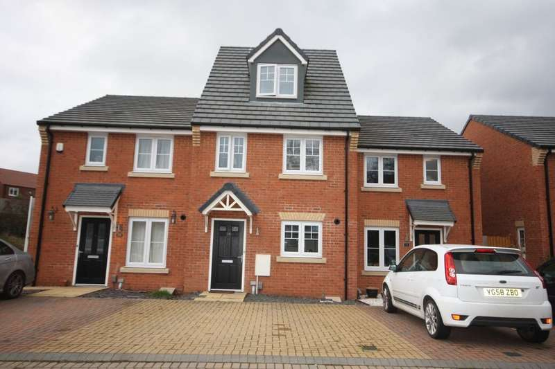 3 Bedrooms Terraced House for sale in Dunnock Close, Guisborough, TS14