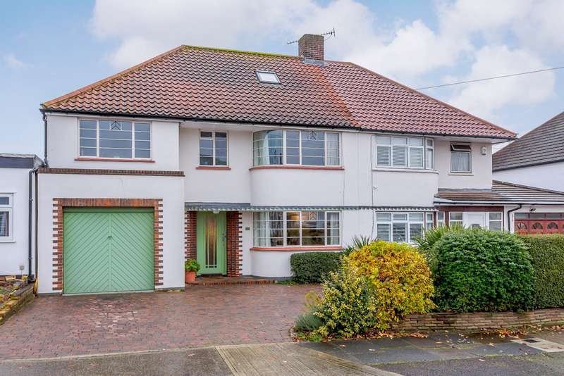 5 Bedrooms Semi Detached House for sale in Meadow Hill, New Malden, KT3