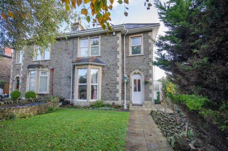 4 Bedrooms Semi Detached House for sale in Shrubbery Road, Downend, Bristol, BS16 5TB