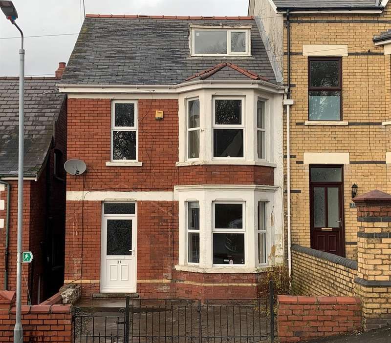 3 Bedrooms End Of Terrace House for sale in Kensington Place, Newport