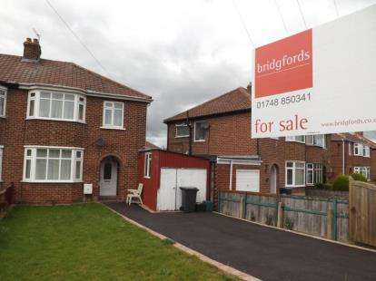 3 Bedrooms Semi Detached House for sale in Colburn Lane, Catterick Garrison, Richmond, North Yorkshire