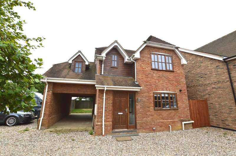 3 Bedrooms Detached House for rent in Lovegrove Gardens, Silchester, Reading, RG7