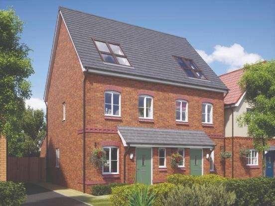 3 Bedrooms Semi Detached House for sale in Plot 97, Coseley Road, Bilston, West Midlands, WV14
