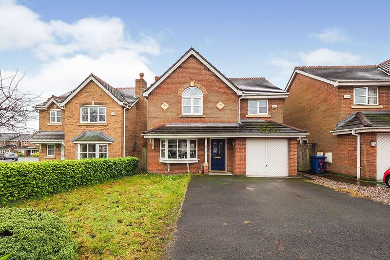 4 Bedrooms Detached House for sale in Hutchinson Way, Radcliffe, Manchester, M26
