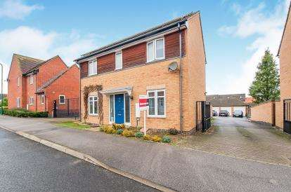 3 Bedrooms Detached House for sale in Pinder Avenue, Peterborough, Cambridgeshire