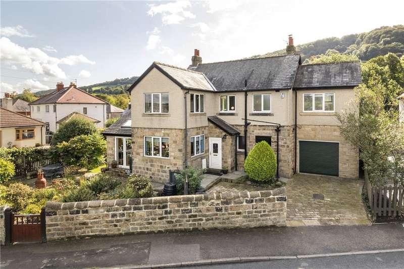 4 Bedrooms Detached House for sale in Hyvinge, Burras Lane, Otley, West Yorkshire