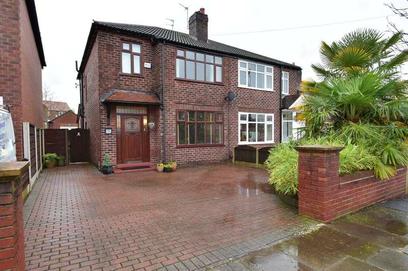 3 Bedrooms Semi Detached House for sale in Hillbrook Road, Offerton, Stockport, SK1 4JW
