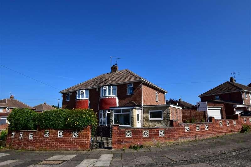 3 Bedrooms Semi Detached House for sale in Grizedale Court, Seaburn Dene, Sunderland