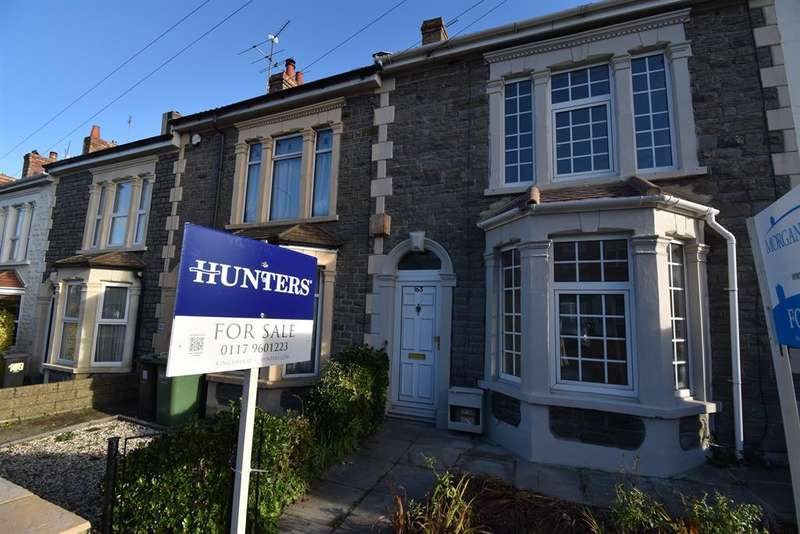 3 Bedrooms Terraced House for sale in Soundwell Road, Soundwell, Bristol BS16 4RS