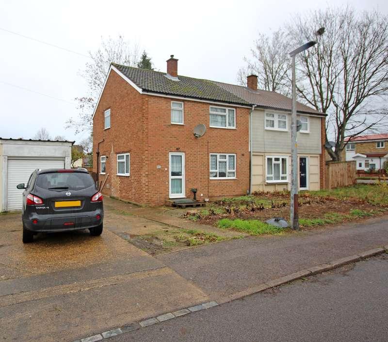 3 Bedrooms Semi Detached House for sale in Twinwoods, Stevenage, SG1 1RJ