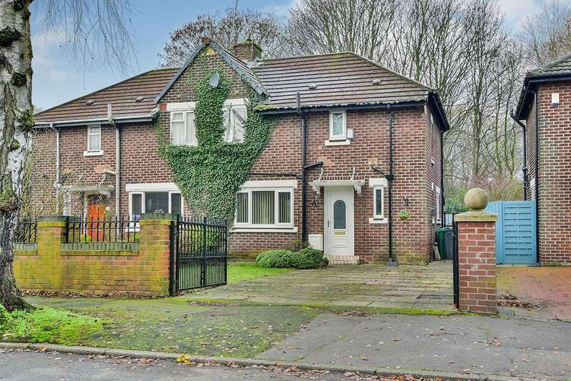3 Bedrooms Semi Detached House for sale in Piper Hill Avenue, Manchester Northenden, Greater Manchester, M22
