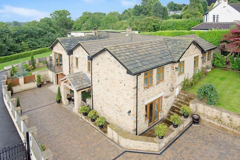 5 Bedrooms Detached House for sale in Langwith Valley Road, Collingham, LS22