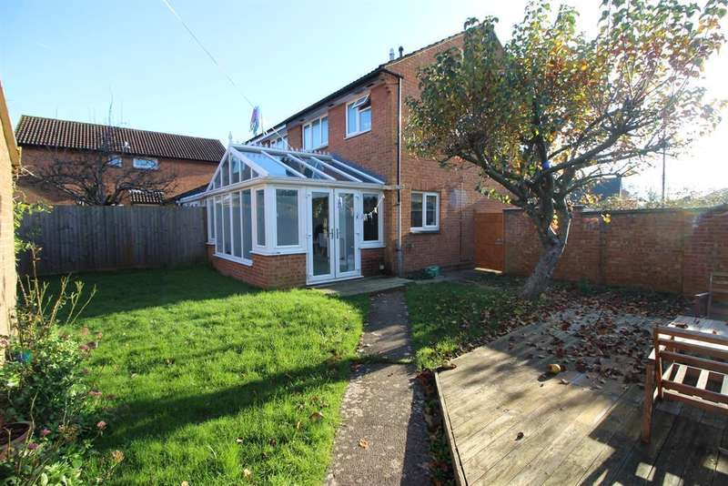 3 Bedrooms Semi Detached House for sale in Mountbatten Close, Yate, Bristol, BS37 5TD