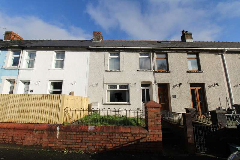 2 Bedrooms Terraced House for sale in Dyffryn Road, Waunlwyd, Ebbw Vale, NP23