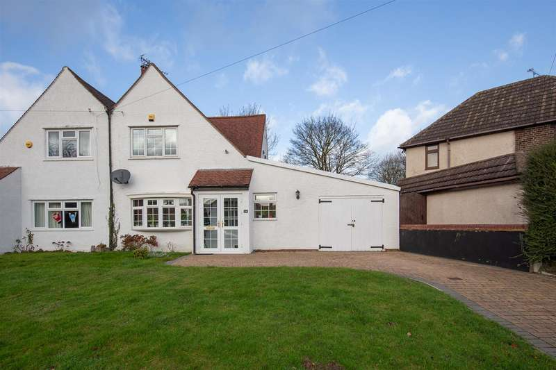 3 Bedrooms Semi Detached House for sale in Bidwell Hill, Houghton Regis, Bedfordshire
