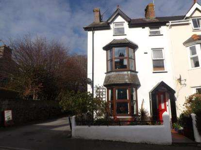 4 Bedrooms End Of Terrace House for sale in Glasfor Terrace, Criccieth, Gwynedd, LL52