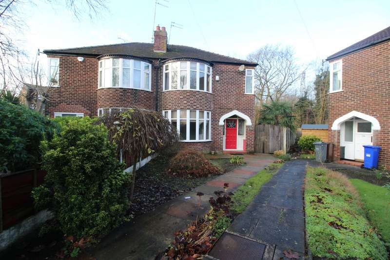 3 Bedrooms Semi Detached House for sale in Kingsway, Manchester Didsbury, Greater Manchester, M20