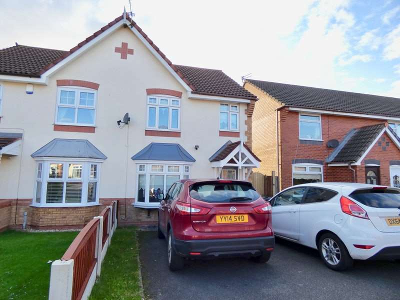 3 Bedrooms Semi Detached House for sale in Riesling Drive, Liverpool, Merseyside, L33