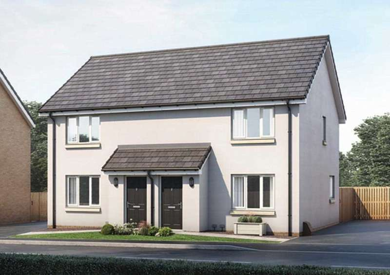 3 Bedrooms Semi Detached House for sale in The Blair, Ravenscraig, Plot 96, The Castings, Meadowhead Road, Ravenscraig, Wishaw