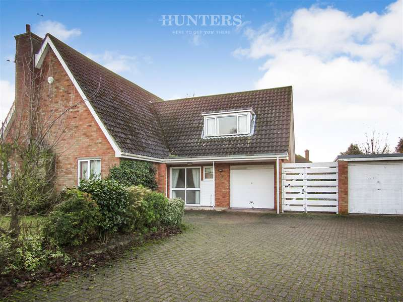 4 Bedrooms Detached House for sale in Churchill Way, Lea, Gainsborough, DN21 5HT