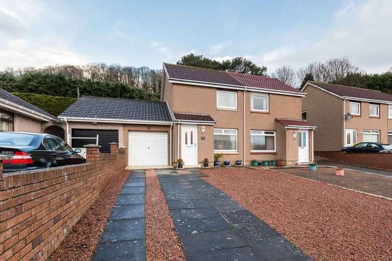 2 Bedrooms Semi Detached House for sale in Ramsay Crescent, Burntisland, Fife, KY3 9JR