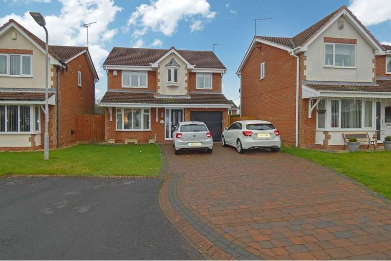 4 Bedrooms Property for sale in Stokoe Drive, Ashington, Northumberland, NE63 9EJ