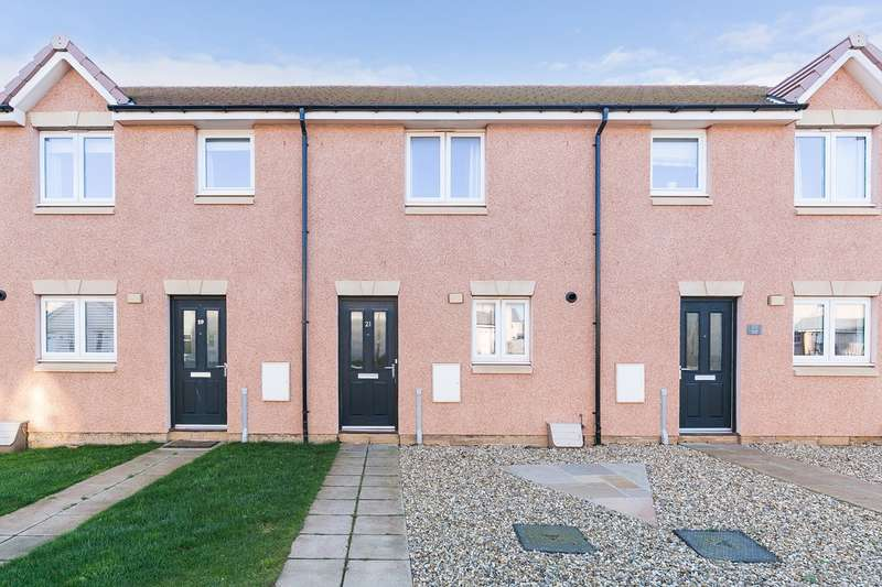 2 Bedrooms Terraced House for sale in Brodie Road, Dunbar, EH42