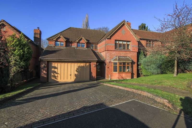 4 Bedrooms Detached House for sale in The Manor, Llantarnam, Cwmbran