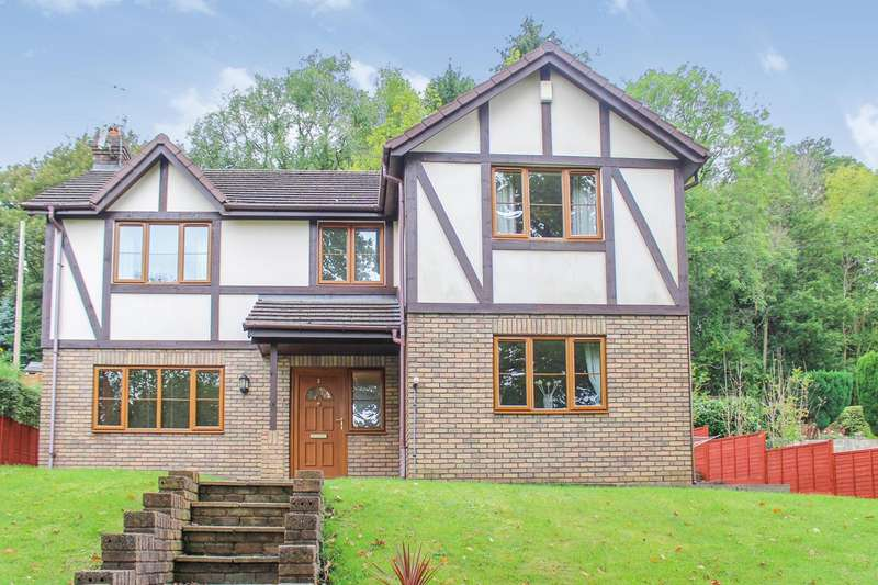 4 Bedrooms Detached House for sale in Lodge View, Pontnewynydd, Pontypool, NP4