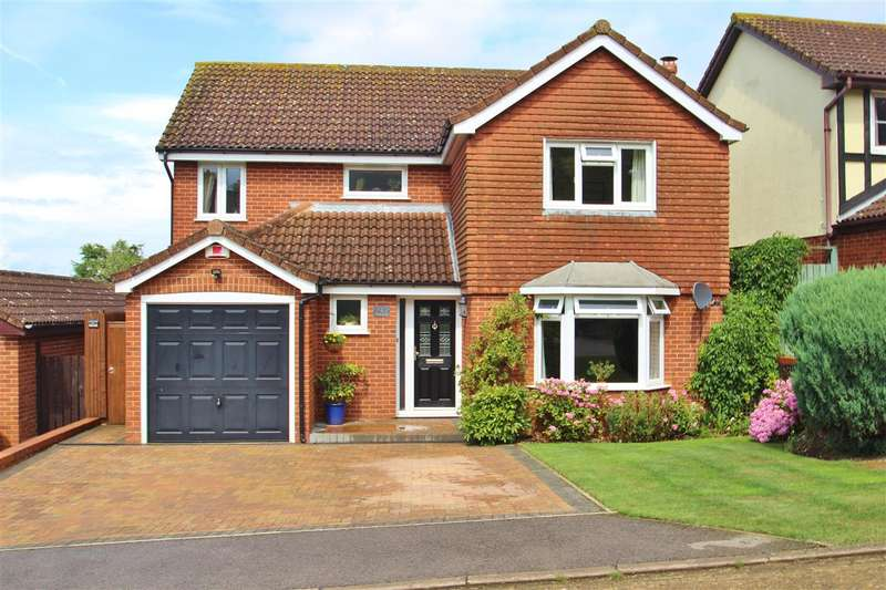 4 Bedrooms Detached House for sale in Maple Leys, Steeple Claydon