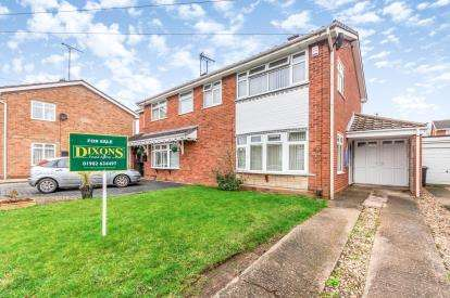 3 Bedrooms Semi Detached House for sale in Treetops Drive, Willenhall, West Midlands