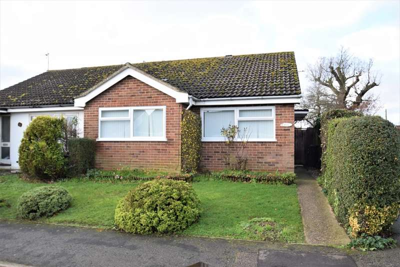 2 Bedrooms Semi Detached Bungalow for sale in Thirlmere Drive, Stowmarket, IP14
