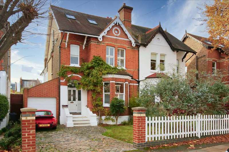 4 Bedrooms Semi Detached House for rent in Lambton Road, Wimbledon
