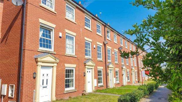 3 Bedrooms Terraced House for sale in Carter Close, Nantwich, Cheshire