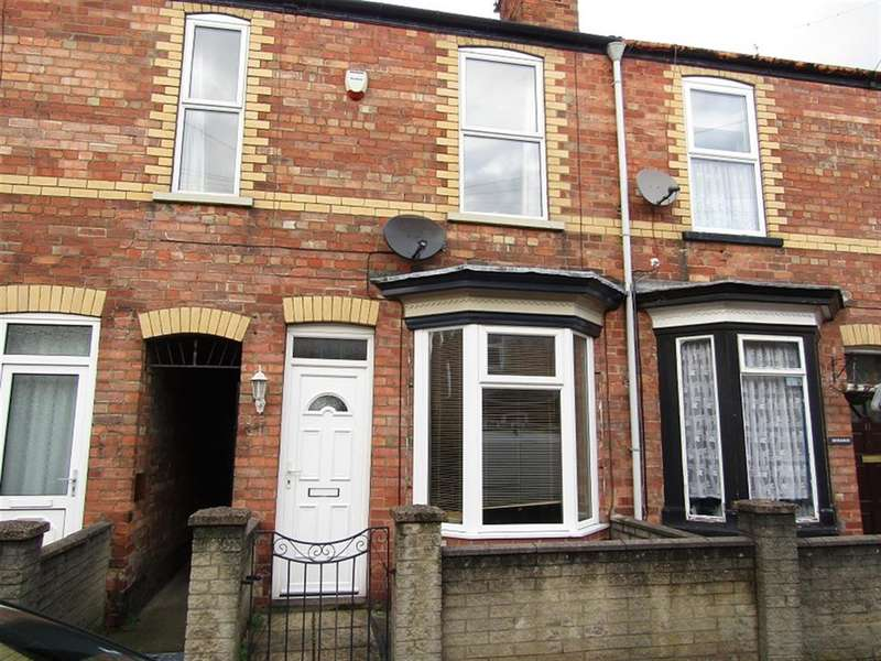 3 Bedrooms Terraced House for sale in Charles Street, Gainsborough, Gainsborough, DN21 2JA