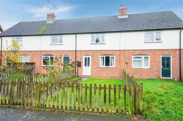 2 Bedrooms Terraced House for sale in Hill View, Barons Cross, Leominster, Herefordshire