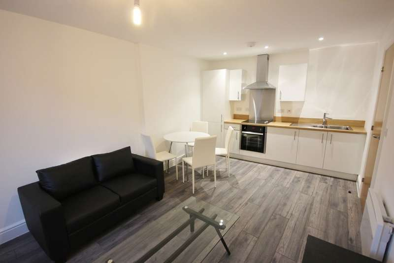 2 Bedrooms Apartment Flat for rent in Queens House, 105 Queen Street S1