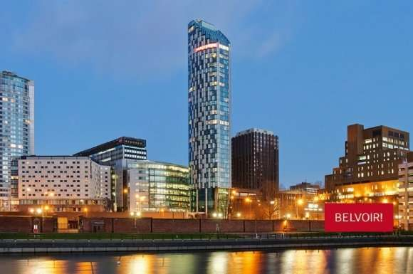 2 Bedrooms Flat for rent in West Tower, Brook Street, City Centre, Liverpool, L3