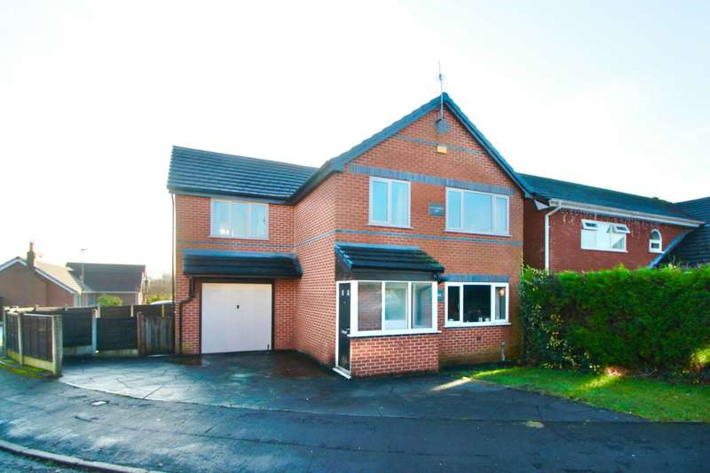 4 Bedrooms Detached House for sale in Sovereign Fold Road, Leigh, Greater Manchester, WN7