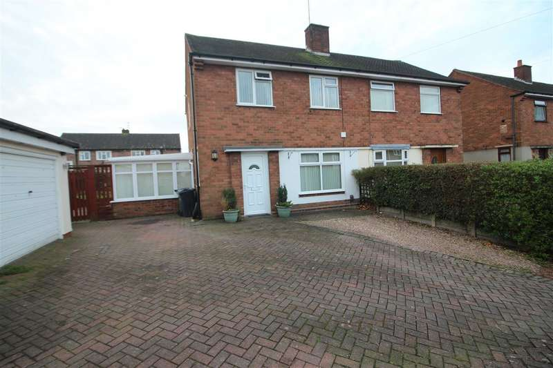 2 Bedrooms Semi Detached House for sale in Norfolk Drive, Wednesbury