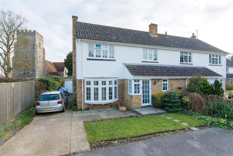 3 Bedrooms Semi Detached House for sale in River Court, Chartham