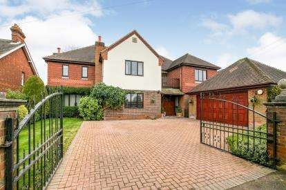 5 Bedrooms Detached House for sale in Northill Road, Ickwell, Biggleswade, Bedfordshire