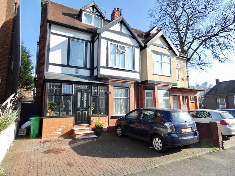 5 Bedrooms Semi Detached House for sale in Burnage Lane, Manchester, Greater Manchester, M19