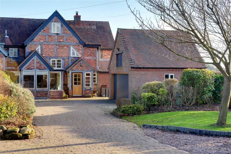 4 Bedrooms Semi Detached House for sale in Pulley Lane, Newland, Droitwich, WR9