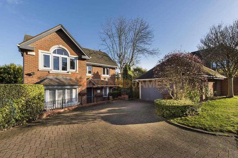 4 Bedrooms Detached House for sale in Blattner Close, Elstree