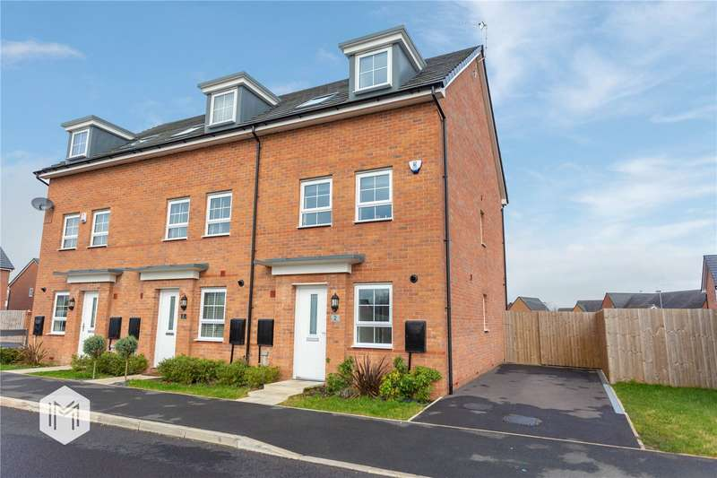 3 Bedrooms Semi Detached House for sale in Helmsman Lane, Rochdale, Greater Manchester, OL16
