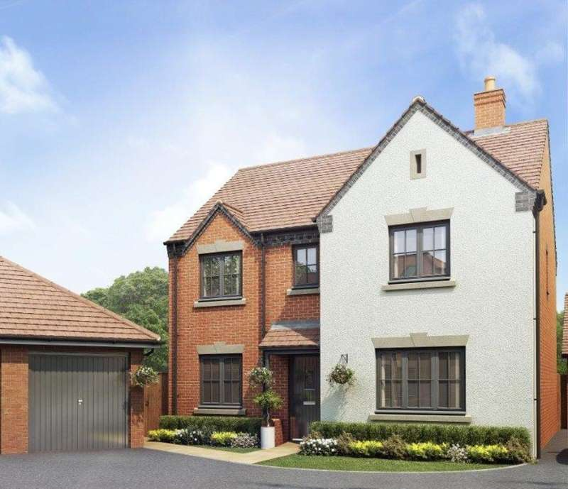 5 Bedrooms Detached House for sale in Plot 123 The Wagstaffe, Oakley Grove 1B, Harbury Lane