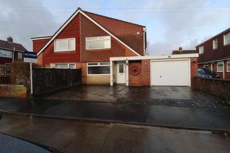4 Bedrooms Semi Detached House for sale in Bifield Road, Stockwood, Bristol, BS14 8TW